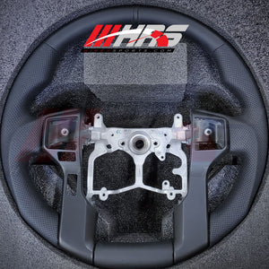 Load image into Gallery viewer, HRS - 2014-20 Toyota Tundra All Leather Fiber Steering Wheel - Choose Color