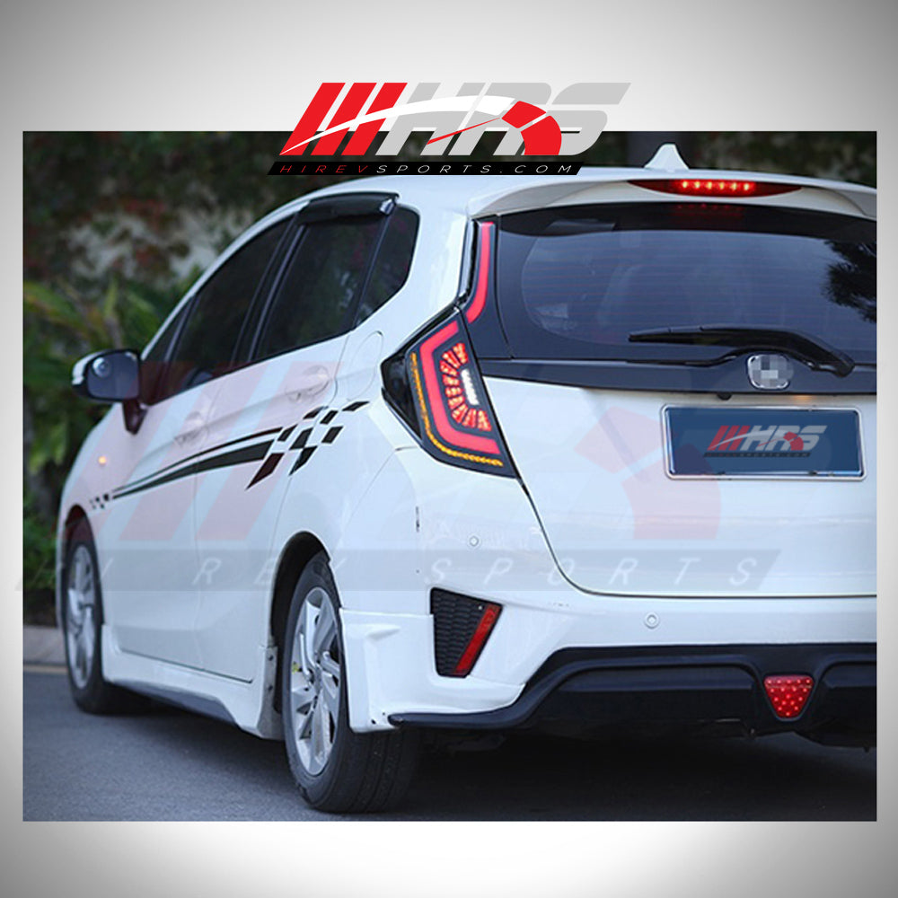 Load image into Gallery viewer, HRS - 2016-18 Honda FIT-JAZZ LED Tail Lights - V2 - CLEARANCE
