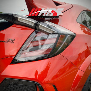 Load image into Gallery viewer, HRS - 2016-20 Honda Civic Hatchback FK7 FK8 LED Tail Lights - V1 - IN STOCK 03/15