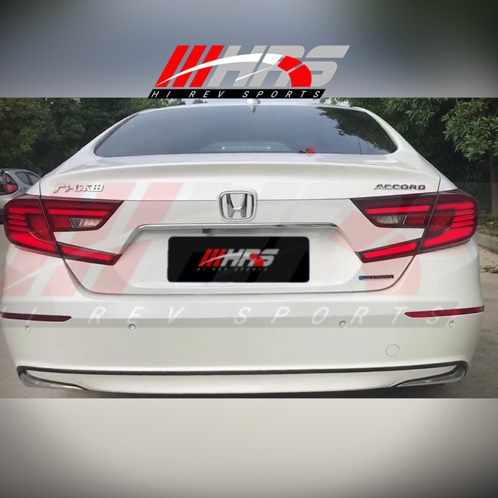 Load image into Gallery viewer, HRS - 2018-20 Honda Accord LED Tail Lights - V2 Red