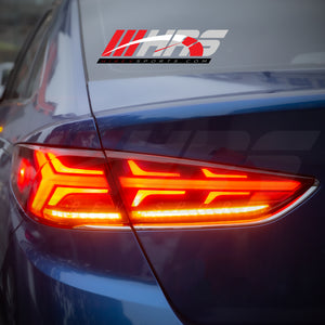 Load image into Gallery viewer, HRS - 2018-19 - Hyundai Sonata LED Sports Style Tail Lights