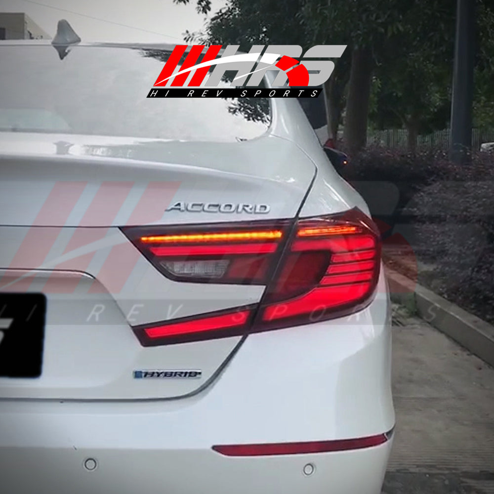 Load image into Gallery viewer, HRS - 2018-20 Honda Accord LED Tail Lights - V2 - AS IS CLEARANCE