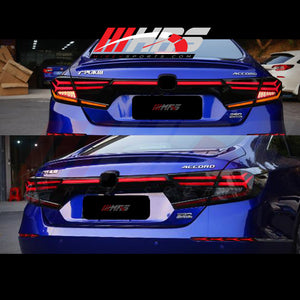 Load image into Gallery viewer, HRS – 2018-20 Honda Accord LED Trunk Light Bar - Smoke