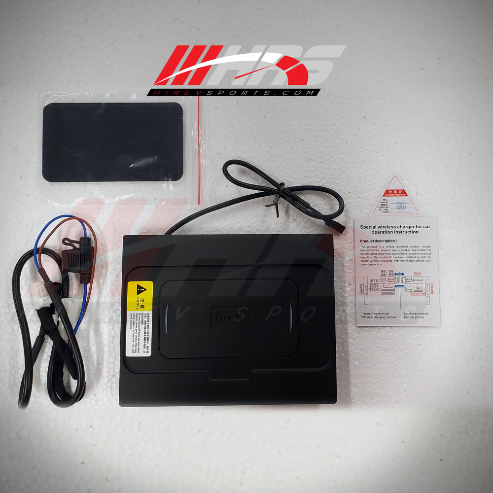 HRS - 2018-20 Toyota Camry Qi Fast Wireless Charging Pad - CLEARANCE