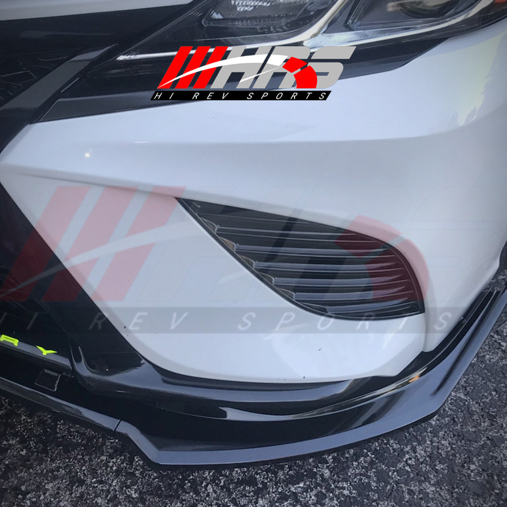 Load image into Gallery viewer, HRS – 2018-20 Toyota Camry Front Lip Spoiler - Gloss Black