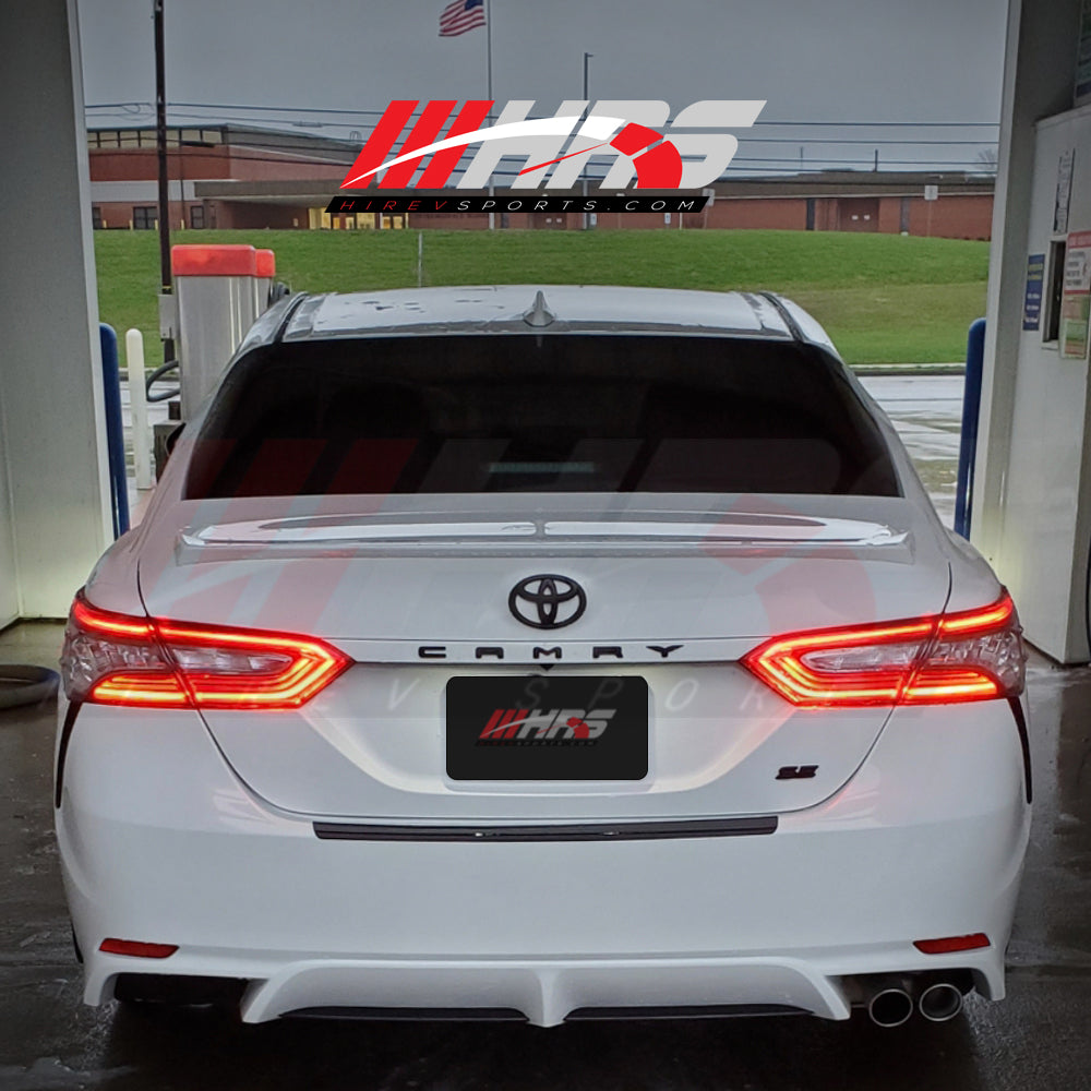 HRS - 2018-20 Toyota Camry XSE Tail Lights for LE-SE - NO WARRANTY - CLEARANCE