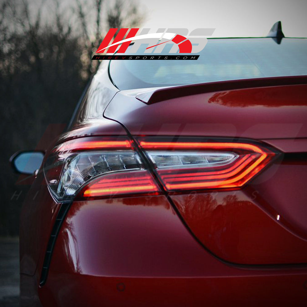 Load image into Gallery viewer, HRS - 2018-20 Toyota Camry XSE Tail Lights for LE-SE - NO WARRANTY - CLEARANCE