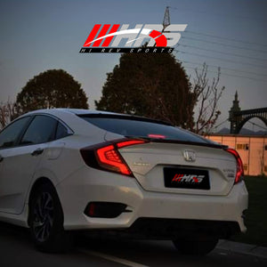 Load image into Gallery viewer, HRS - 2016-20 Honda Civic LED Tail Lights V2 - RED - IN STOCK 02/15