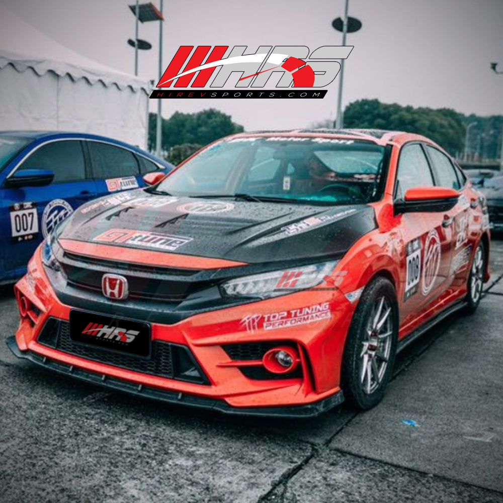 HRS – 2016-18 Honda Civic Complete Body Kit