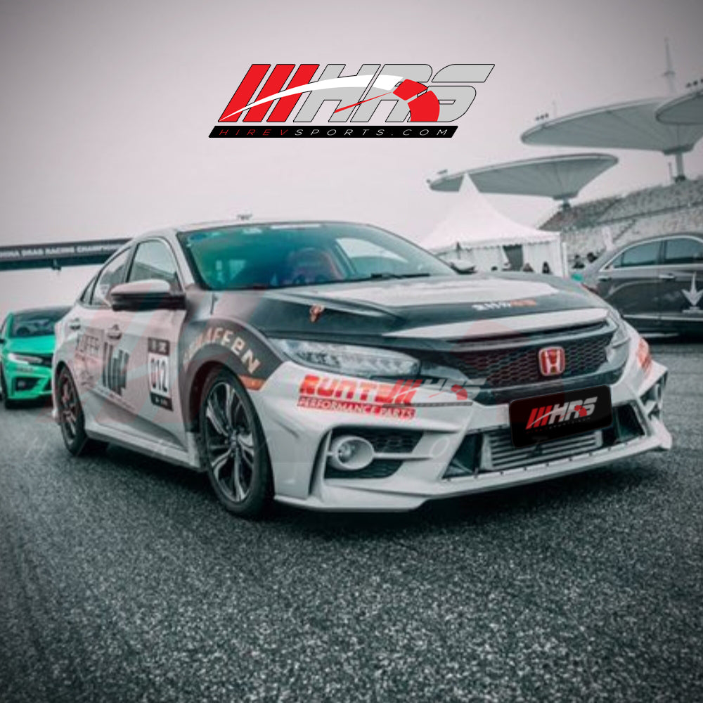 Load image into Gallery viewer, HRS – 2016-18 Honda Civic Complete Body Kit