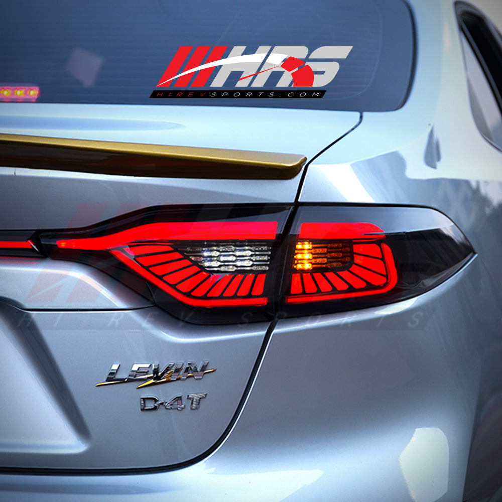 HRS - 2020 Toyota Corolla LED Tail Lights - V2 - CLEARANCE