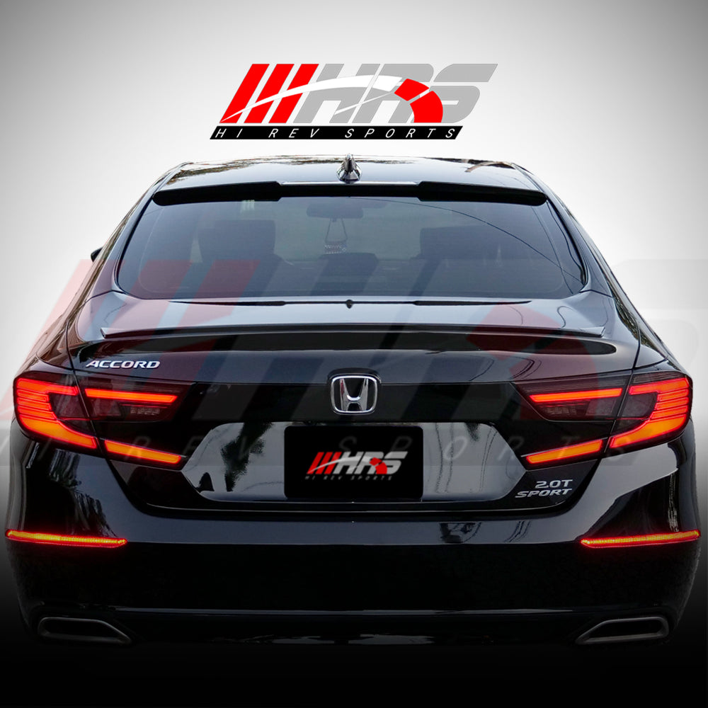 HRS - 2018-20 Honda Accord LED Tail Lights - V2 Smoke