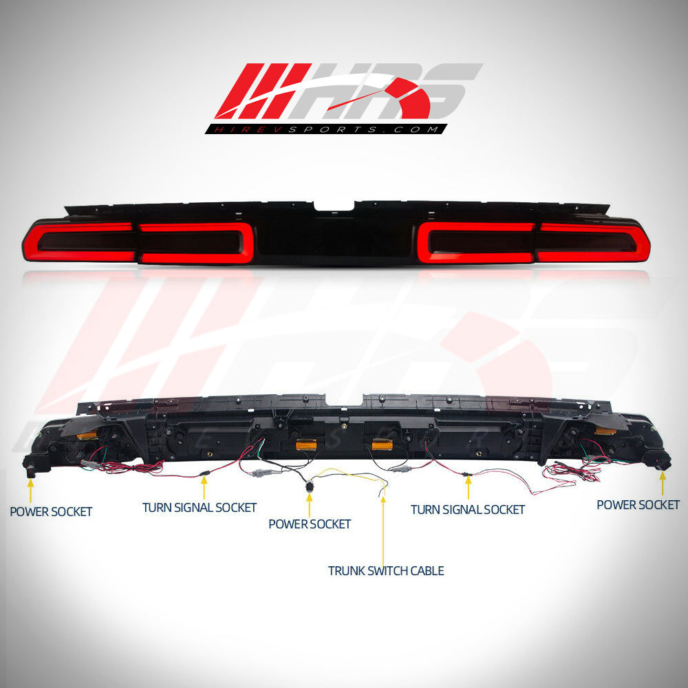 Load image into Gallery viewer, HRS - 2008-14 Dodge Challenger LED Tail Lights