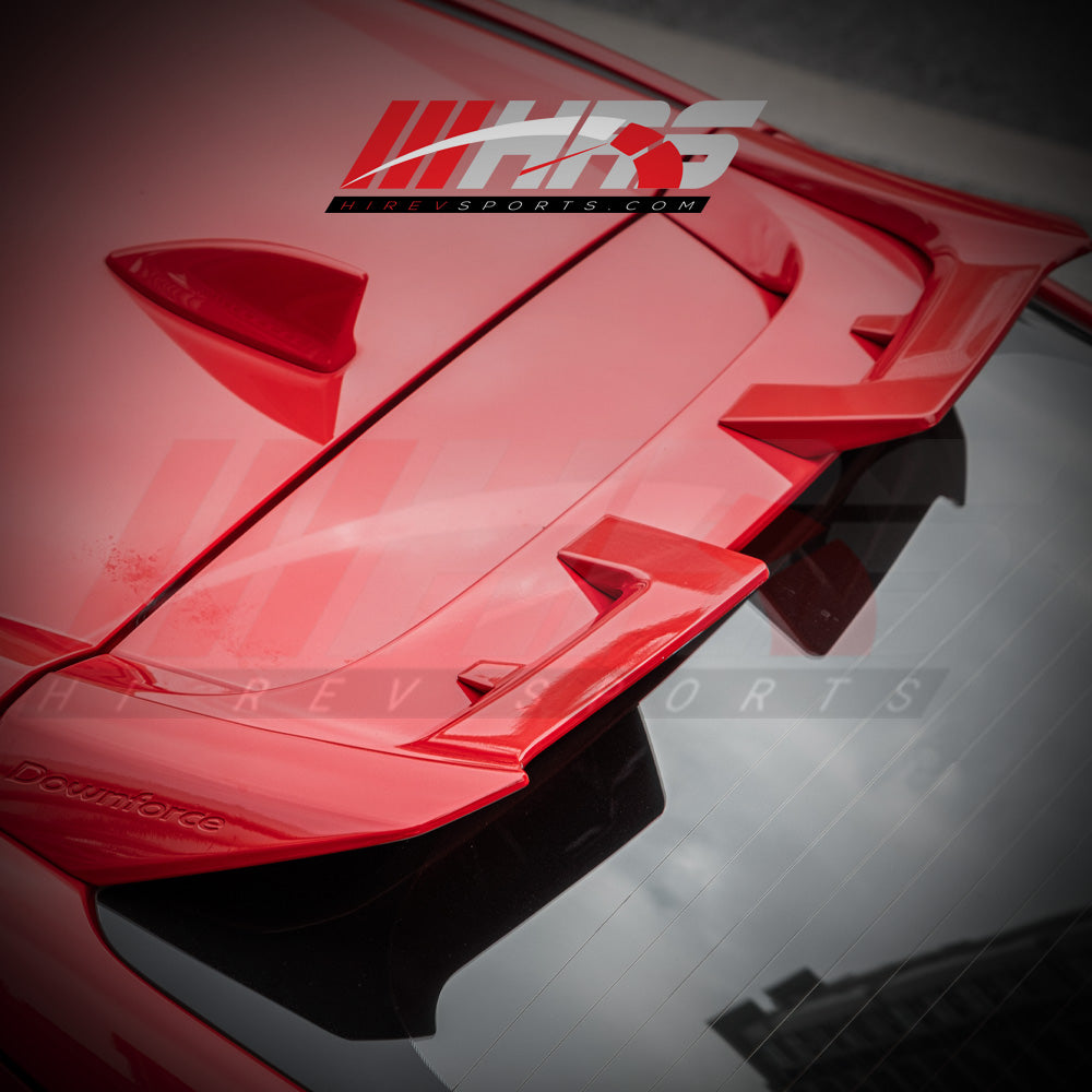 Load image into Gallery viewer, HRS 2017-20 Honda Civic Hatchback FK7-FK8 Roof Spoiler