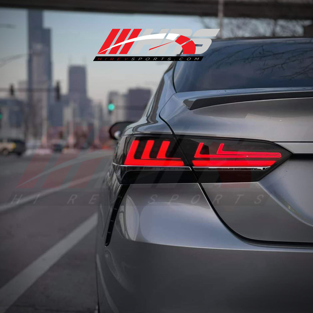 HRS - 2018-20 Toyota Camry LED Tail Lights - V1 - Choose Color