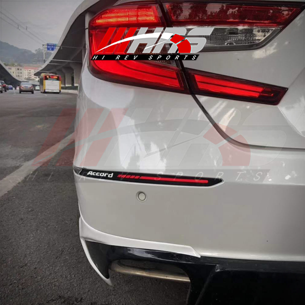 HRS - 2018-20 Honda Accord Rear Bumper LED Reflectors - V3