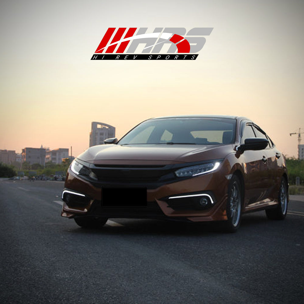 Load image into Gallery viewer, HRS - 2016-18 Honda Civic Front Bumper DRL's