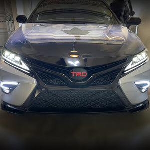 Load image into Gallery viewer, HRS - 2018-21 Toyota Camry Headlights - TRIPPLE BEAM LEXUS STYLE