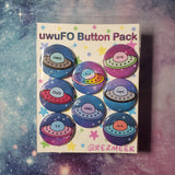 uwuFO Pinback Button Pack