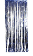 Load image into Gallery viewer, XL Metallic Navy Curtain (1m x 2.4m)
