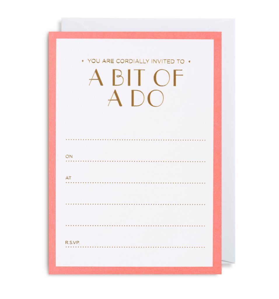 A Bit Of A Do – Party Invitations Kelly Hyatt-Party Love