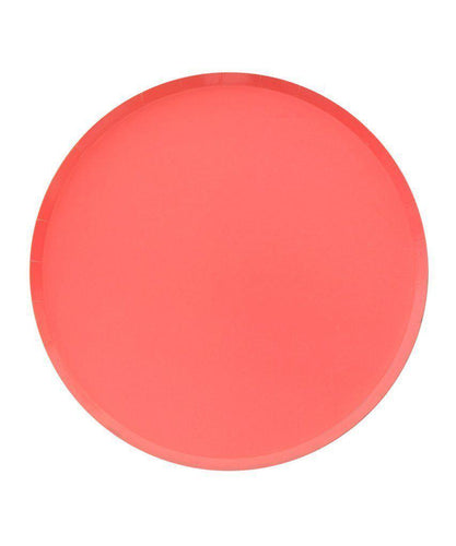 Coral Party Plates (Large)-Party Love