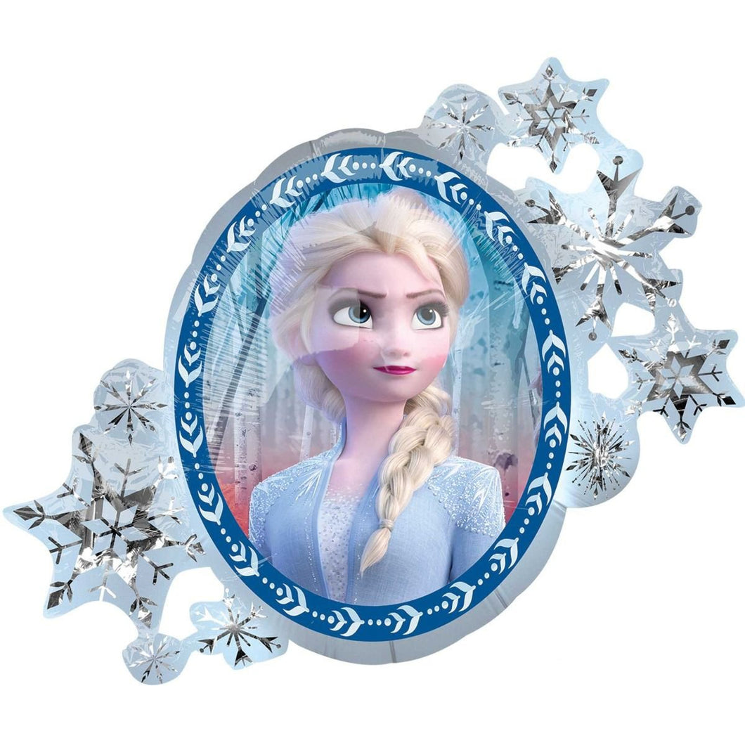 Frozen Foil Balloon 76cm x 66cm-Party Love