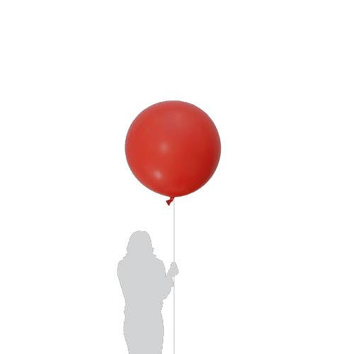 Jumbo Red Balloon 90cm (1 Pack)-Party Love