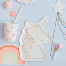 Load image into Gallery viewer, Unicorn Plates-Party Love
