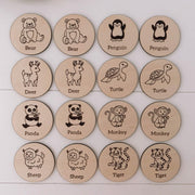 Kids Memory Games - The Occasion Co. - Personalised engraved gifts for the home, wedding, kids, pets and more.