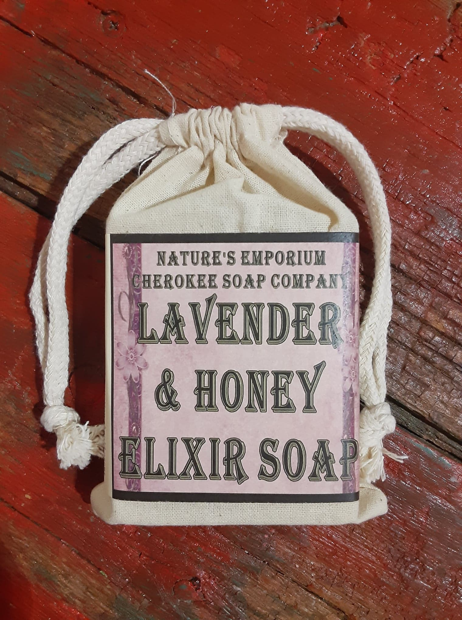 Lavender Honey Elixir Soap