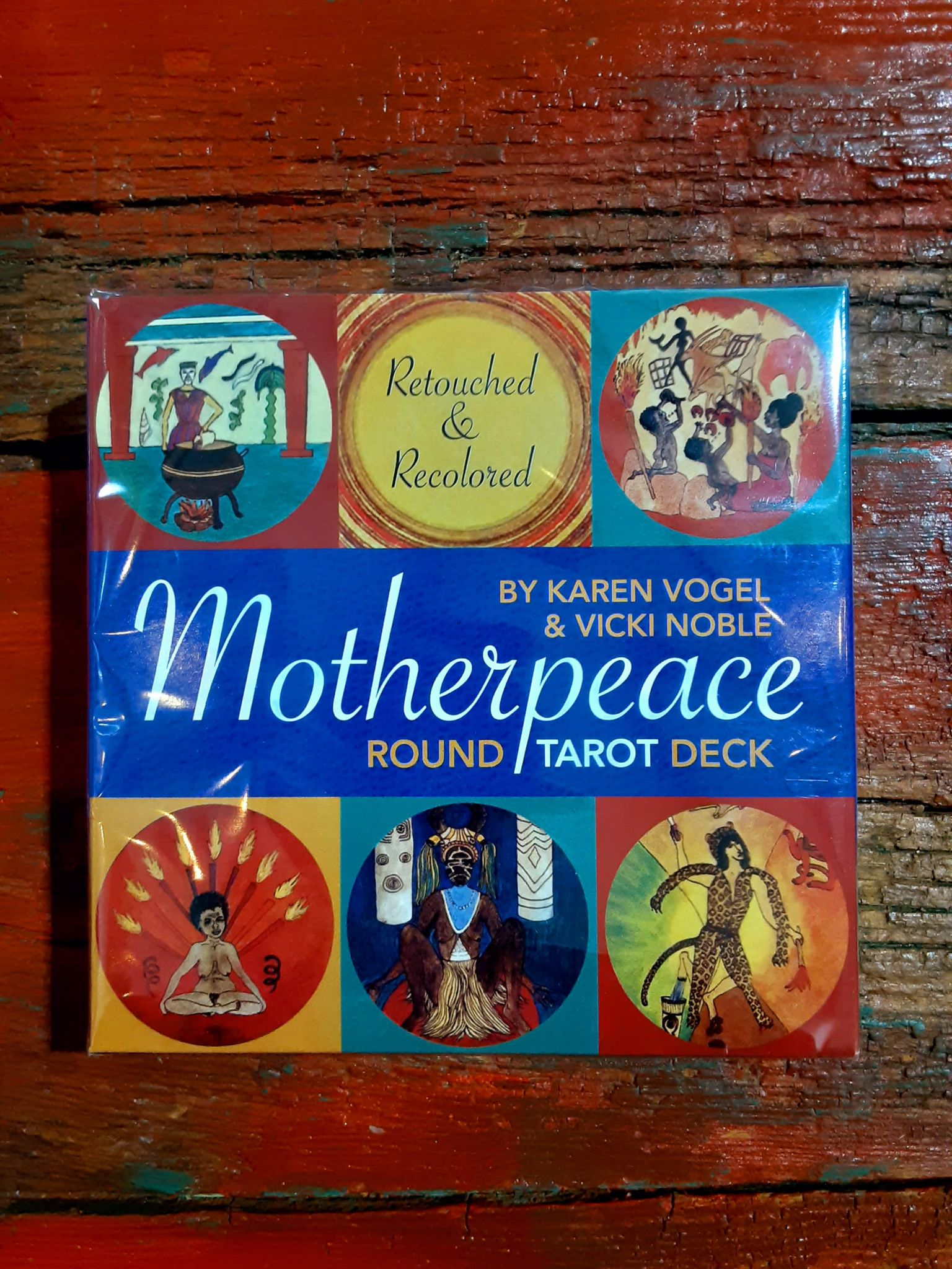 MotherPeace Round Deck Cards
