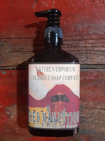 Red Man Lotion