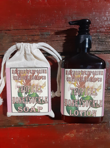 Tropical Honeysuckle Lotion