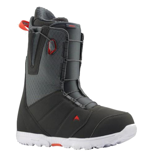 Botas de Snow Burton Moto Speedzone Gray Red