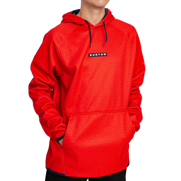 Pullover Burton Crown Waterproof Flame Scarlet
