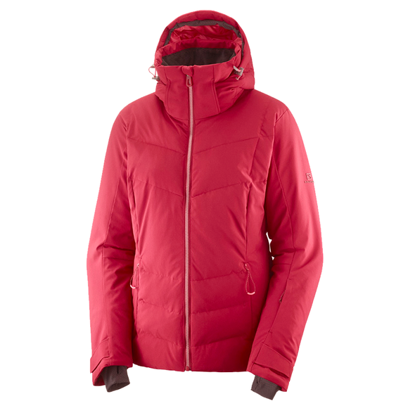 Chaqueta Salomon Icepuff W Rio Red