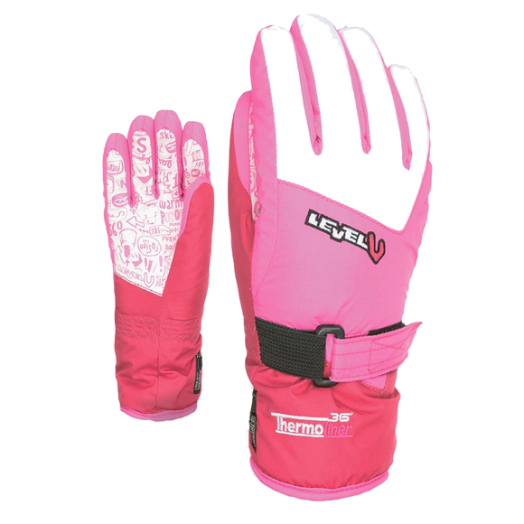 Guantes Level Junior Purple