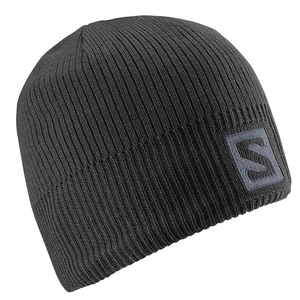 Gorro Salomon Logo Black