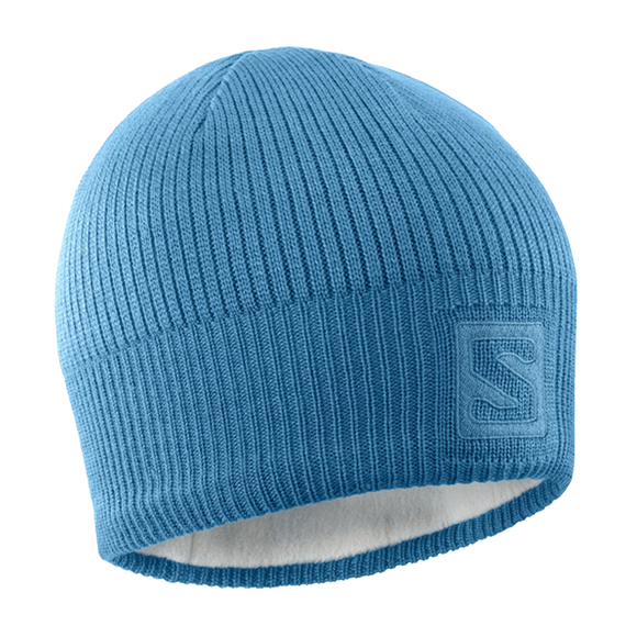 Gorro Salomon Logo Blue