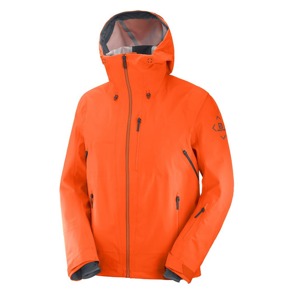 Chaqueta Salomon Outlaw 3L Red Orange