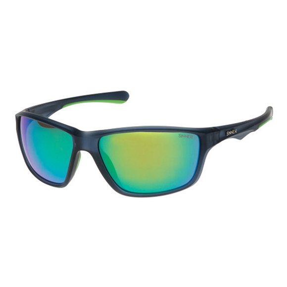 Gafas Sinner Eyak Black/Green