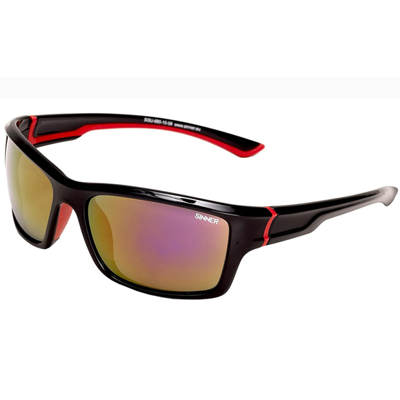 Gafas Sinner Cayo Black/Red