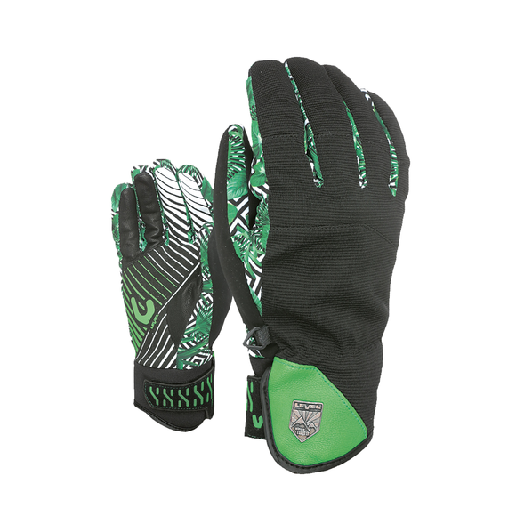 Guantes Level Suburban Green