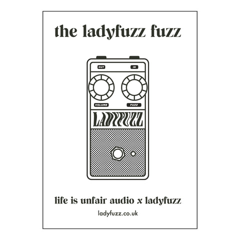 Ladyfuzz Fuzz Pedal Manual