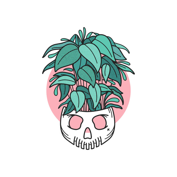 All My Plants Are Dead Vinyl Sticker