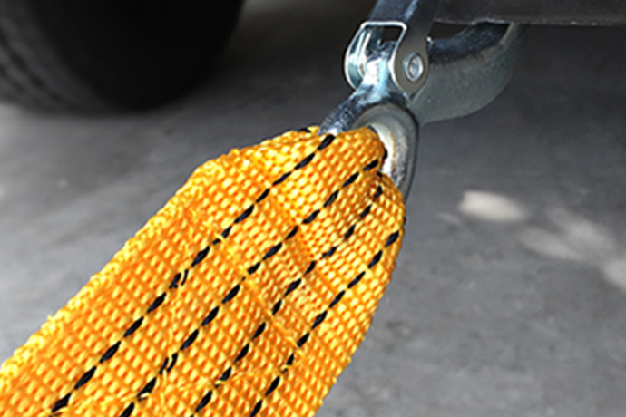 How to use: 3 Ton (10000 Lbs) Tow Strap w/hooks