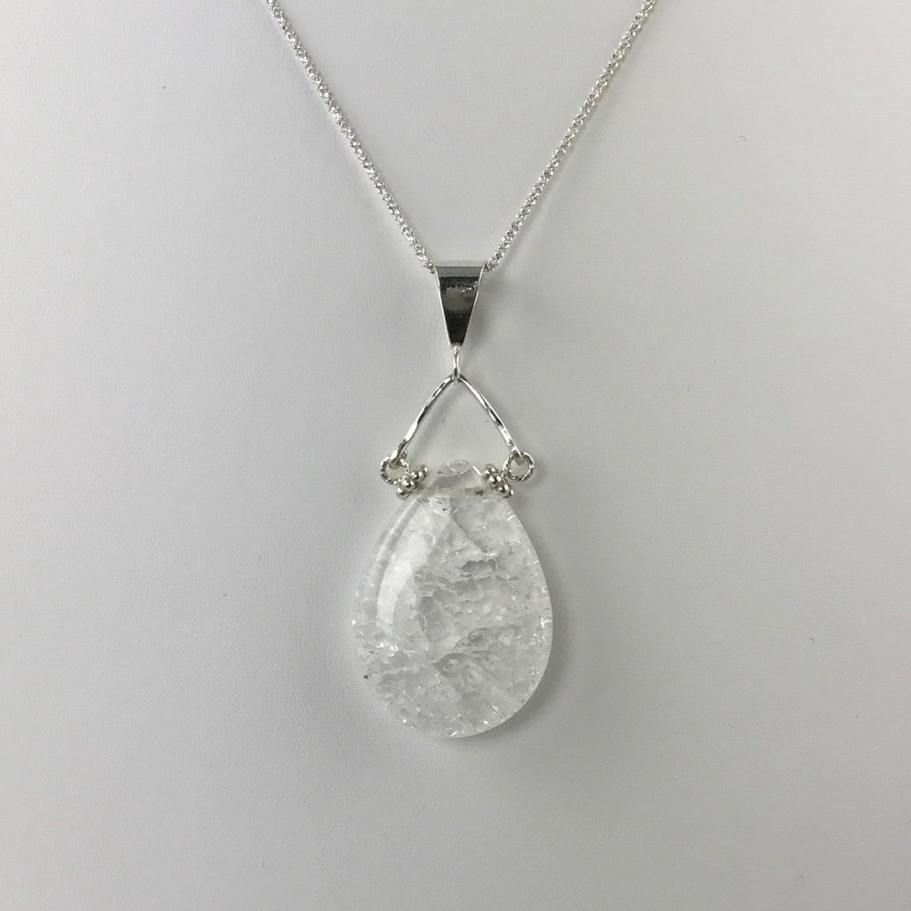 product silver necklace pendant linkouture teardrop sterling