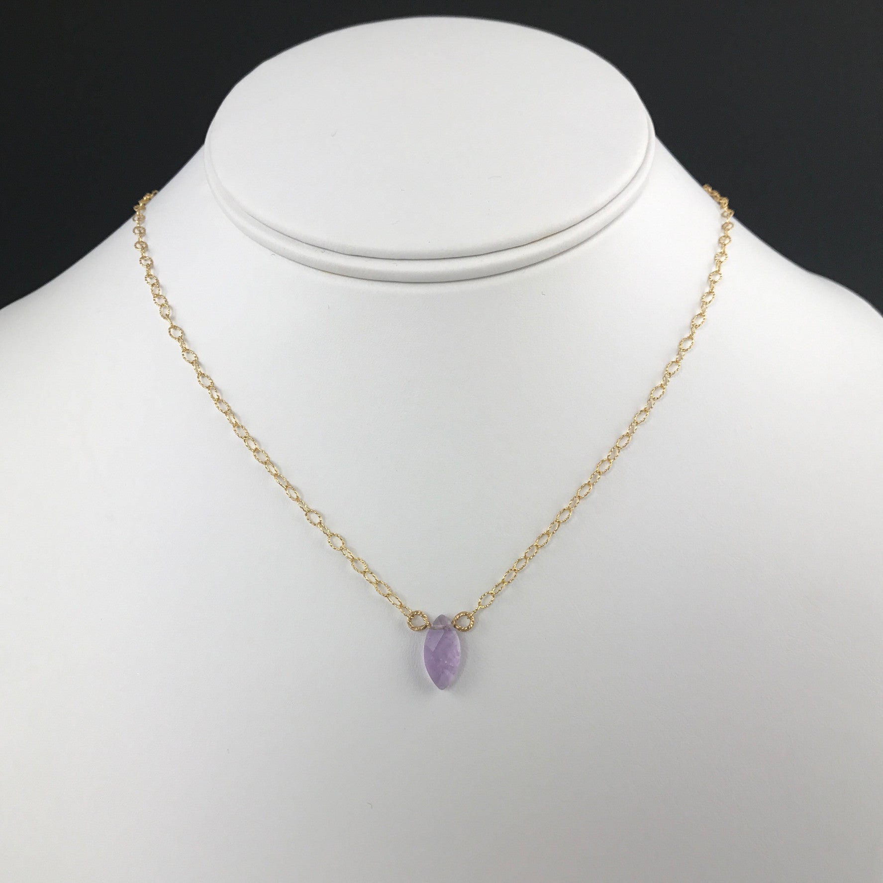 product cut yellow gold amethyst emerald cts vintage s necklace natural purple jewellery