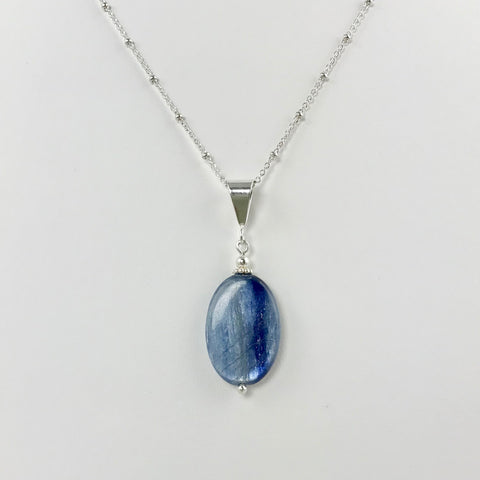 Oval Kyanite Pendant